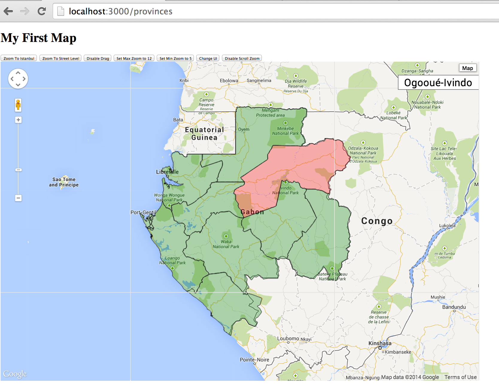 Integrate PostGIS and Google maps in Rails Part 2 - AprilTouch